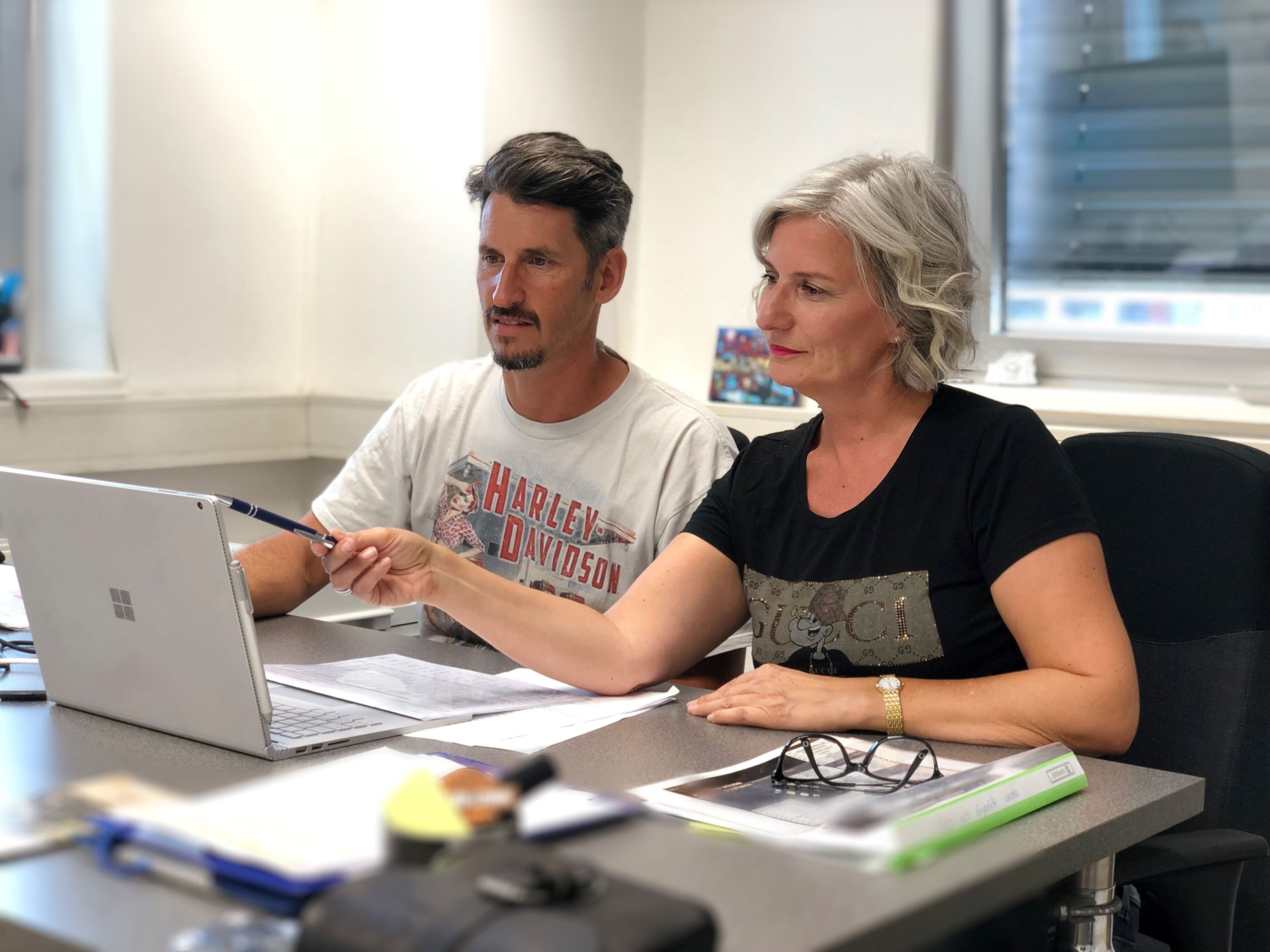 Unternehmensberatung bei Hot-Stuff Salzburg mit Sonja Promock